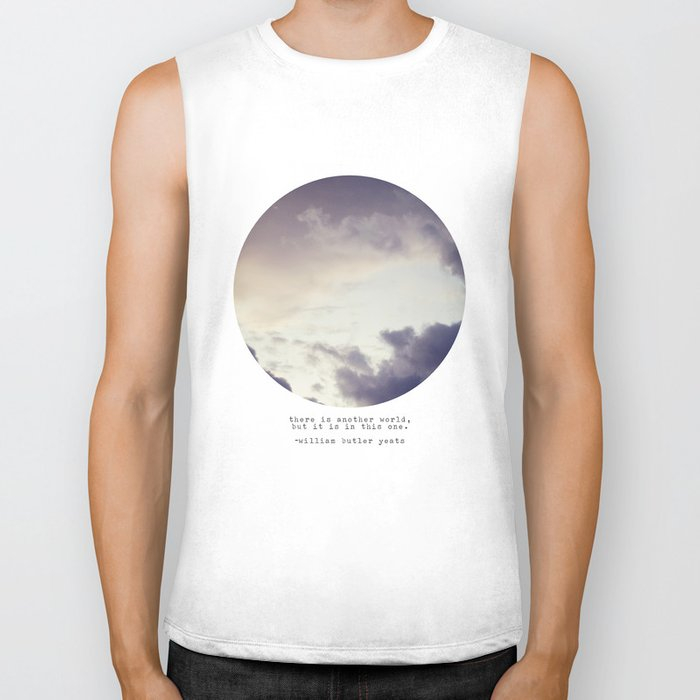 There Is Another World Biker Tank