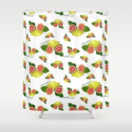 Juicy Guava Shower Curtain