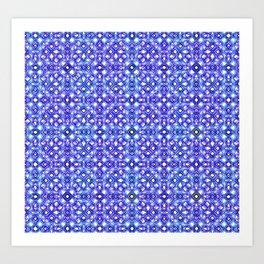 Shape of Diamond Blocks 2 Art Print