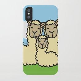 Lovely Llama's iPhone Case
