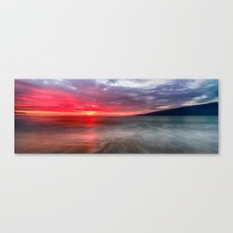Kihei Sunset Canvas Print