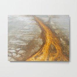 Sunset Sand Metal Print