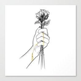 Precious love Canvas Print