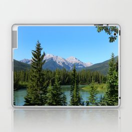 Along The Bow Valley Parkway Laptop & iPad Skin