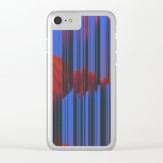 Sunset Melodic Clear iPhone Case