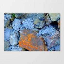 Blue Rock 2 Canvas Print