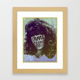 Damas Gratis Framed Art Print