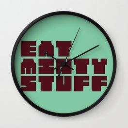 Minty stuff Wall Clock
