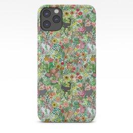 Garden Cats iPhone Case