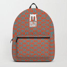 Psychedelic Bunny - Orange & Teal Backpack