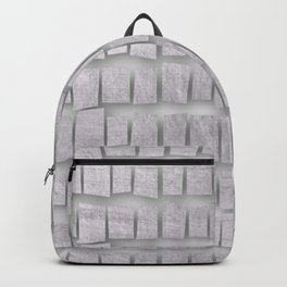 Silver memorial blocks August 2018 Backpack
