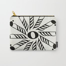 Vignette music note mandala Carry-All Pouch