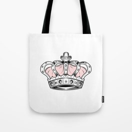 Crown - Pink Tote Bag