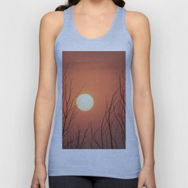 Burning Sky Unisex Tank Top