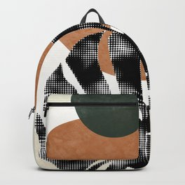 Tropical abstract art Backpack