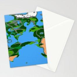 Final Fantasy II Japanese Overworld Stationery Cards