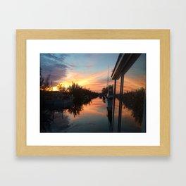 Boat Life Framed Art Print