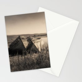 The Old Fishing Boats Stationery Cards