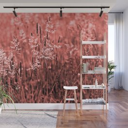 CORAL OCEAN of GRASSES Wall Mural