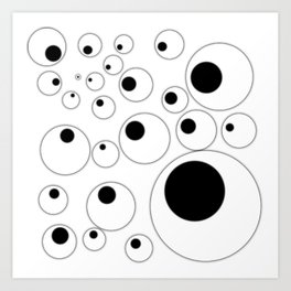 Eyes (Light) Art Print