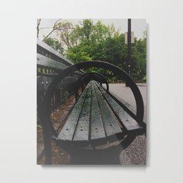 Central Circle Metal Print