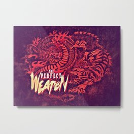 Becoming The Perfect Weapon Metal Print