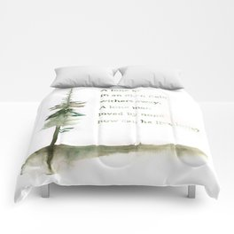 A Viking Proverb - Fir Tree Comforters