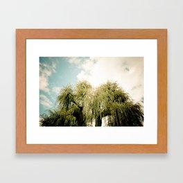 Babylonica Framed Art Print