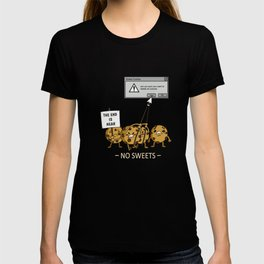 Cookies Fan Candy Lovers Slimming Weight Reducing Design T-shirt