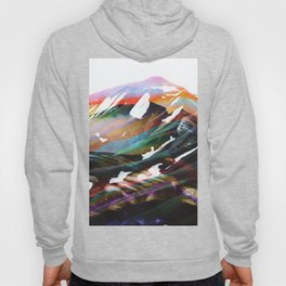 Abstract Mountains II Hoody