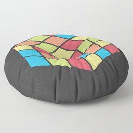 #68 Rubix Cube Floor Pillow