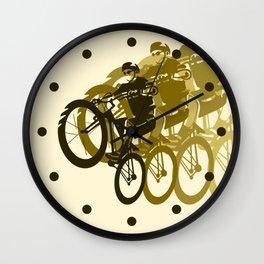 Mountain Bike Wall Clock
