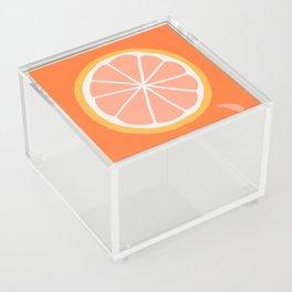 Grapefruit Slice Acrylic Box