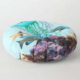 Jelly Fish Floor Pillow