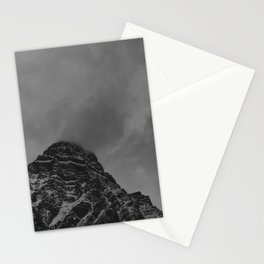Stormy, Winter Mountain Stationery Cards