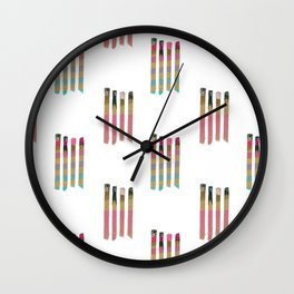 Party Matches Wall Clock