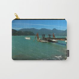 Old Pier Near Sea to Sky Highway Carry-All Pouch