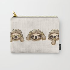 No Evil Sloth Carry-All Pouch