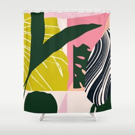 Tropical West Shower Curtain