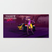 grand theft auto Canvas Prints featuring Grand Theft Autobot 2 by 88bullets