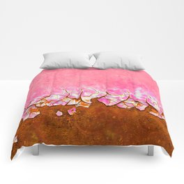 Pink and Rust Comforters