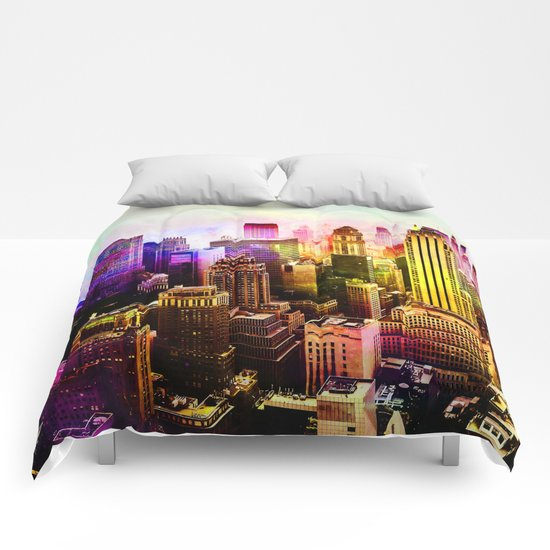 RainBow New York Comforters