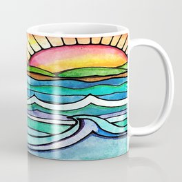 Beachy #society6 #spring #summer Coffee Mug