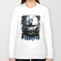 bane Long Sleeve T-shirts featuring Bane: Rise by Sirenphotos