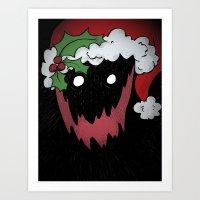 Merry Krampus! Art Print