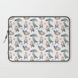Lovebirds all-over Laptop Sleeve