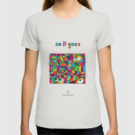So it goes - Vonnegut T-shirt