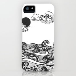 Swirly Water iPhone Case