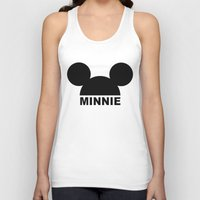 minnie mouse Tank Tops featuring MINNIE by ilola