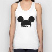 minnie Tank Tops featuring MINNIE by ilola